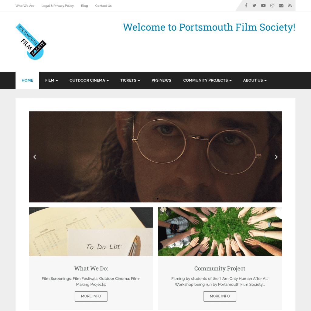 Portsmouth Film Society Website