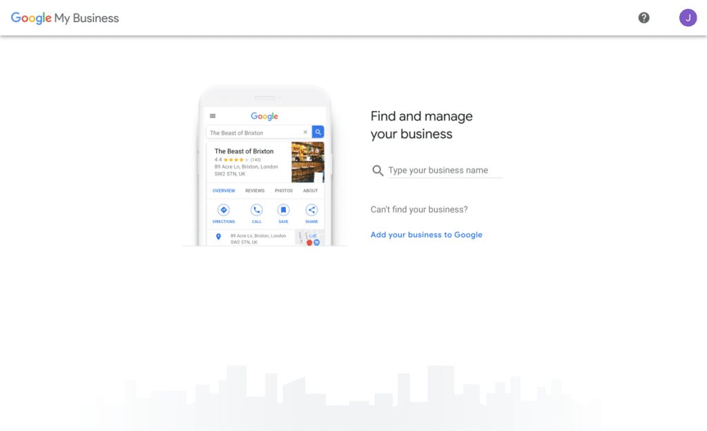 Google My Business - Find My Business